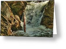 Kent Falls Redux Greeting Card