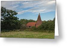 Kent Oast House Greeting Card