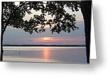 Kentucky Lake At Sunsset Greeting Card