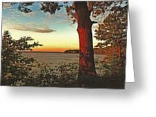 Kentucky Lake Sunrise Greeting Card