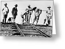 Kenya-uganda Railway 1901 Greeting Card
