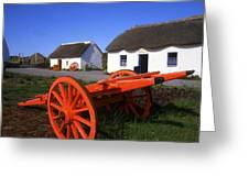 Kerry Bog Village Museum, Glenbeigh, Co Greeting Card