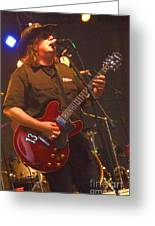 Kevin Kinney Lead Singer And Guitarist For Drivin N Cryin Greeting Card
