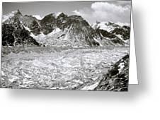 Khumbu Glacier Greeting Card