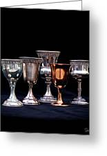 Kiddush Cups Greeting Card