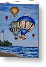 Kid's Art- Balloon Ride Greeting Card