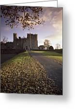 Kilkea Castle, Co Kildare, Ireland Road Greeting Card