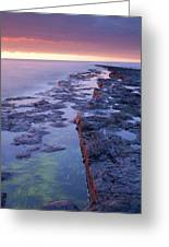 Killala Bay, Co Sligo, Ireland Bay At Greeting Card
