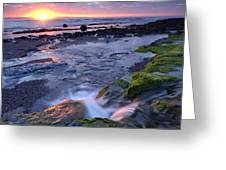 Killala Bay, Co Sligo, Ireland Sunset Greeting Card