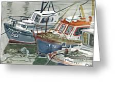 Kilmore Boats Greeting Card
