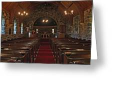 Kilmore Church Dervaig Greeting Card