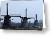 Kinderdijk Windmills 2 Greeting Card