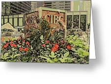 King And Bay Streets Greeting Card