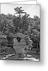 King Of The Hill Pictured Rocks Greeting Card