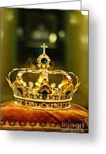 Kingdom Greeting Card by Syed Aqueel