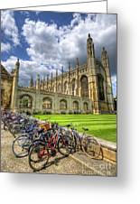 Kings College Cambridge Greeting Card