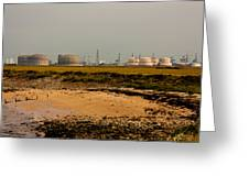 Kingsnorth Power Station Greeting Card