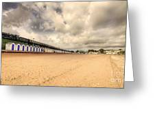 Kinlet Hall At Goodrington Sands Greeting Card