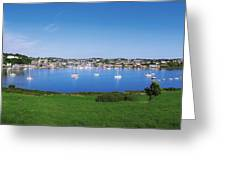 Kinsale, Co Cork, Ireland Boats And Greeting Card