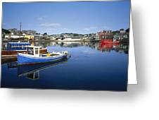 Kinsale, Co Cork, Ireland Boats In The Greeting Card