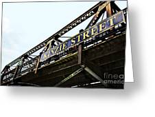 Kinzie Street Stop - Chicago Greeting Card