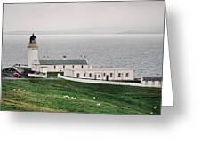 Kirkabister Ness Lighthouse Greeting Card