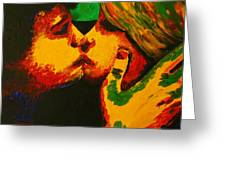 Kiss Me Before Is Too Late Greeting Card