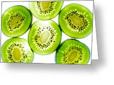 Kiwi Greeting Card by Drew Castelhano