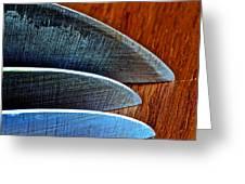 Knives Greeting Card