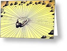 Knowledge Without Wisdom IIi Greeting Card by Paulo Zerbato