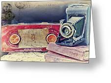 Kodak The Old Way Greeting Card