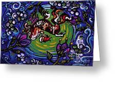 Koi Fish Greeting Card