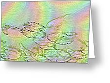 Koi Rainbow Greeting Card