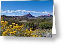 Kolob Terrace Afternoon Greeting Card