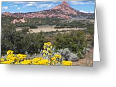Kolob Terrace Red Buttes Greeting Card