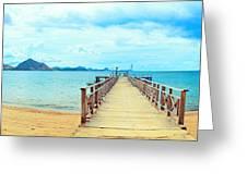 Komodo Panorama Greeting Card