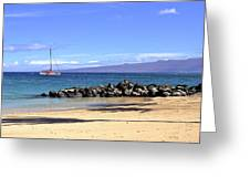 Kona Island Hawaii Greeting Card
