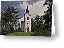 Kostel Panny Marie Lourdske Greeting Card