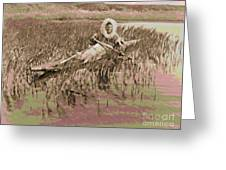 Kotzebue Muskrat Hunter Greeting Card