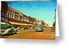 Kresge's Department Store In Oshkosh Wi In 1950 Greeting Card