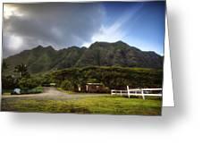 Kualoa Ranch 1 Greeting Card