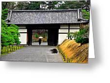 Kyoto Rain Greeting Card