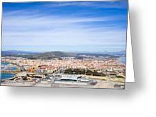 La Linea De La Concepcion In Spain Greeting Card