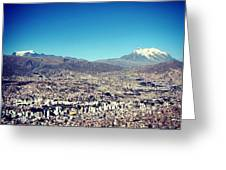La Paz Greeting Card by Marie-Claude Charron