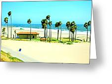 La Playa  Greeting Card