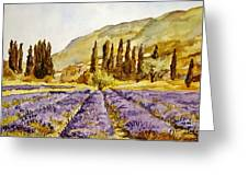 La Provence Greeting Card