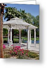 La Quinta Park Gazebo Greeting Card