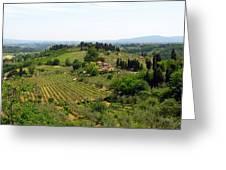 La Toscana Greeting Card