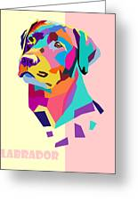Labrador Portrait Greeting Card