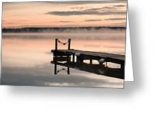 Lac De Leon Greeting Card